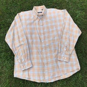 Burberry London Nova Check Casual Button Up Shirt
